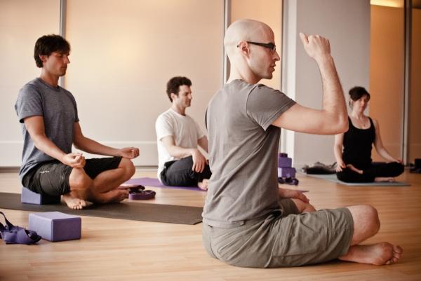 Richard's Yoga Class