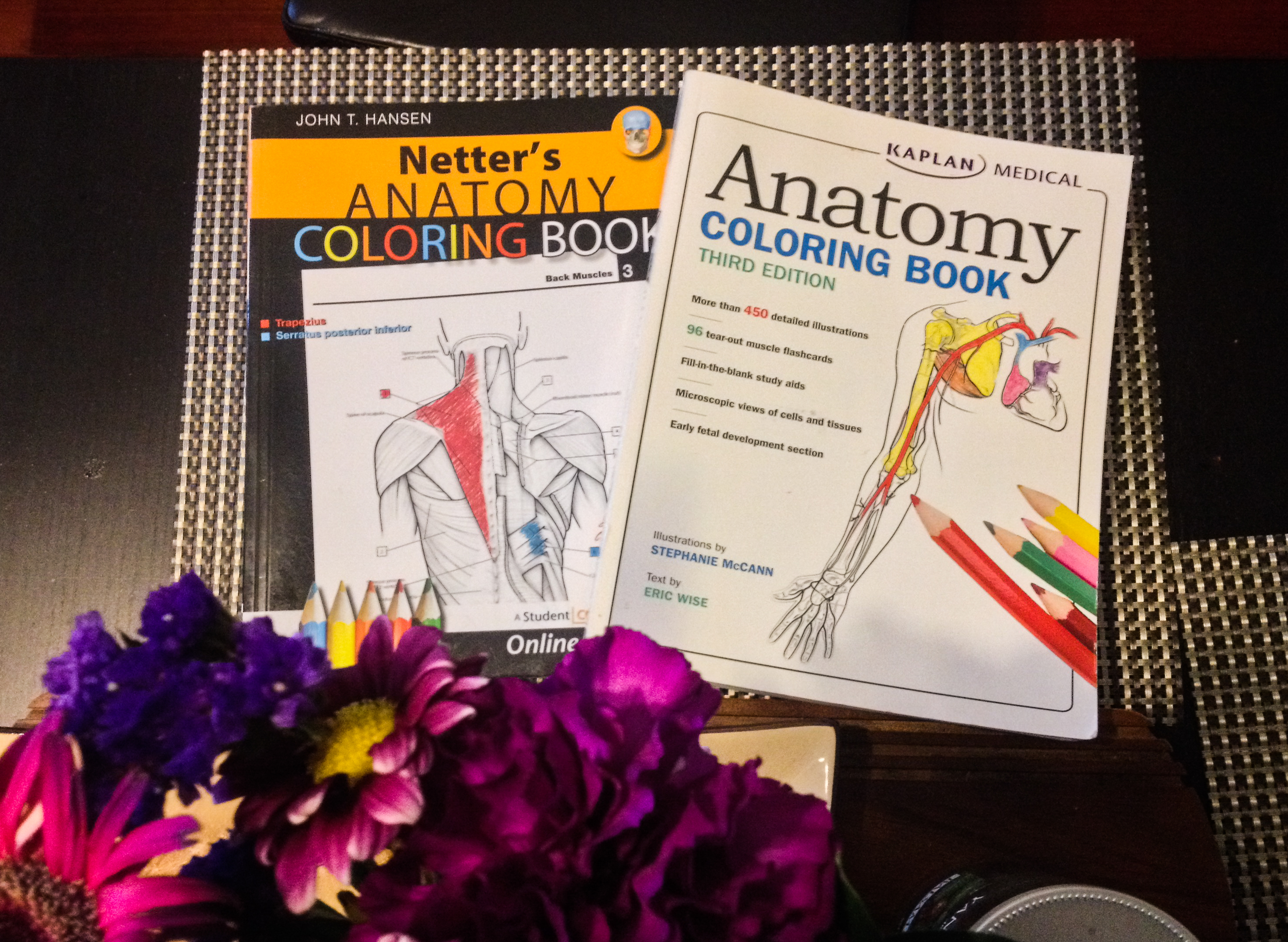 The anatomy coloring book wynn kapit download